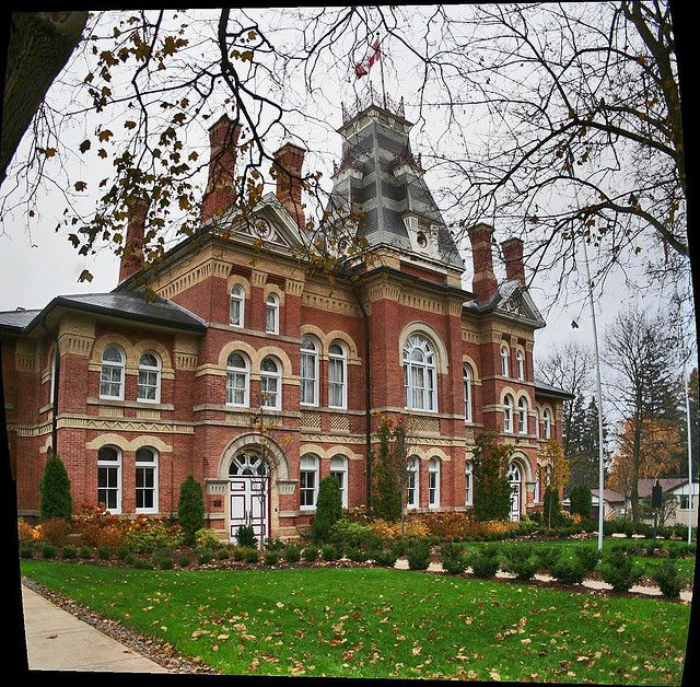 Dufferin County Courthouse, Orangeville, Ontario