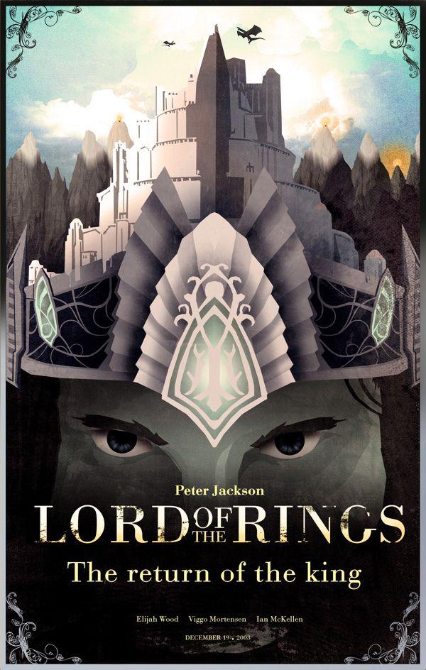 Lotr Fan Art Por Nicolas Alejandro Barbera The Return Of The King The Hobbit Lord Of The Rings Hobbit Art