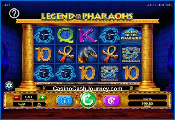 Barcrest Casino Announces New Legend Of The Pharaohs Slot