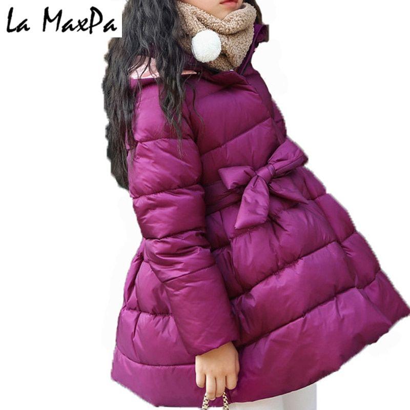 85672da1ba68 New Girls Winter Coats and Jackets Children Girls Parka Spring Autumn Warm  Girls Clothes 2018 Big