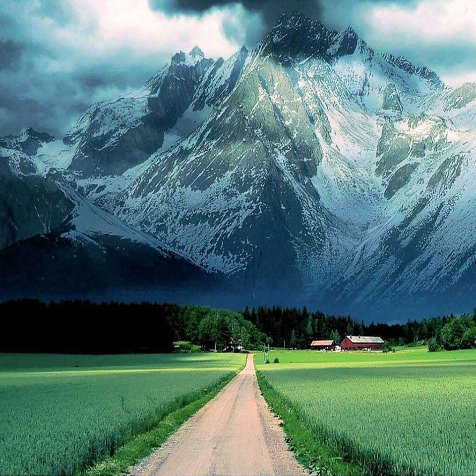 The Farm Below The Mountain