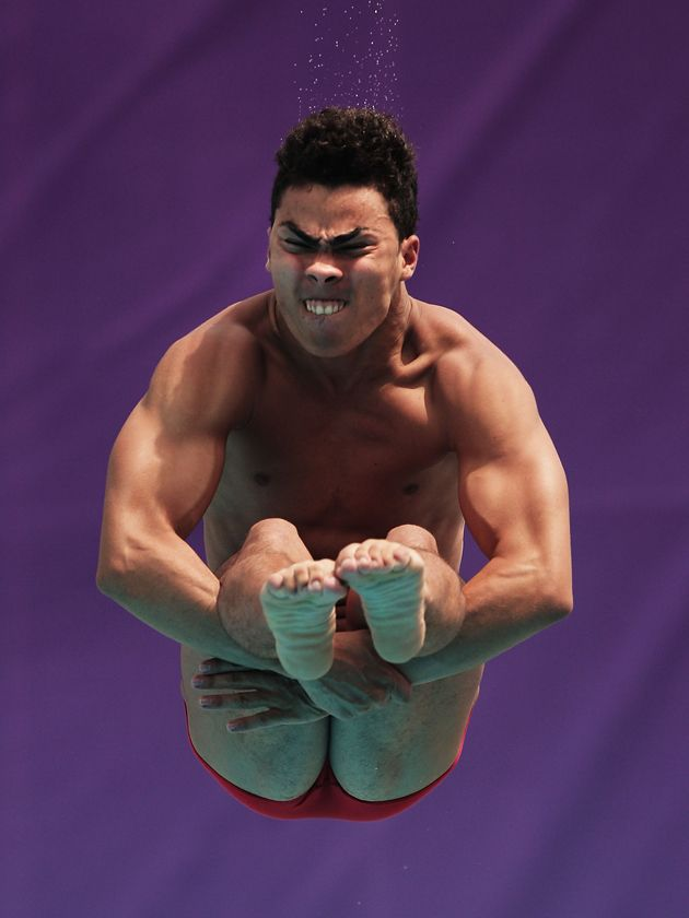 Olympic Games Diving Faces
