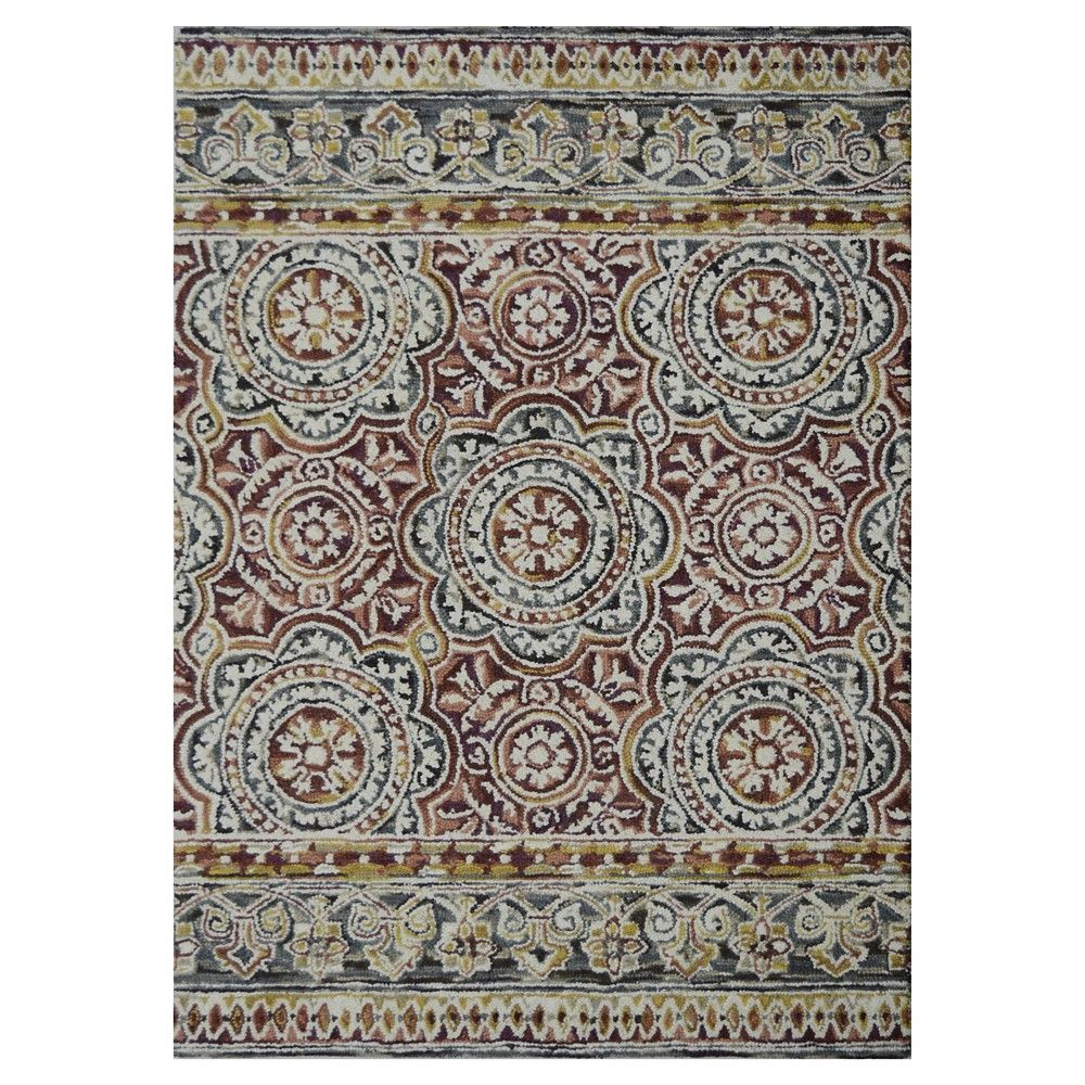 Belfast Area Rug Red 5x7 Threshold Products Rugs