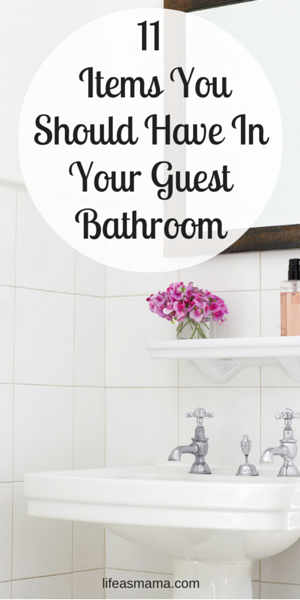 11 Items You Should Have In Your Guest Bathroom Guest Bathroom Farm House Living Room Cheap Home Decor