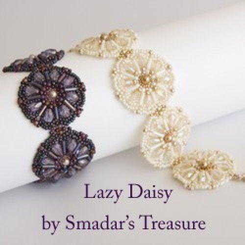 Beading Tutorial - Lazy Daisy Bracelet