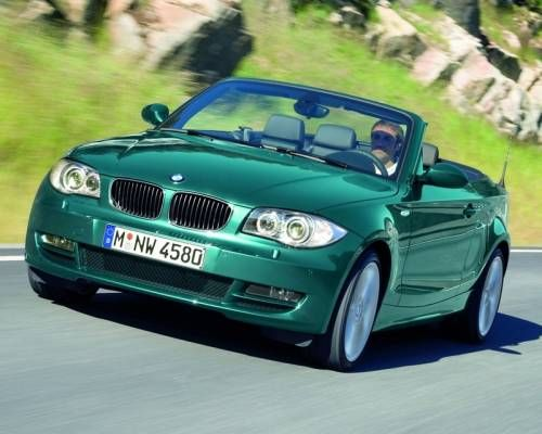 More Bmw 1 Series Convertible Official Photos With Images Bmw