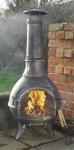 Superior Buy The Calico Aztec Style Cast Iron Chimenea Online From The Largest Range  Of Cast Iron