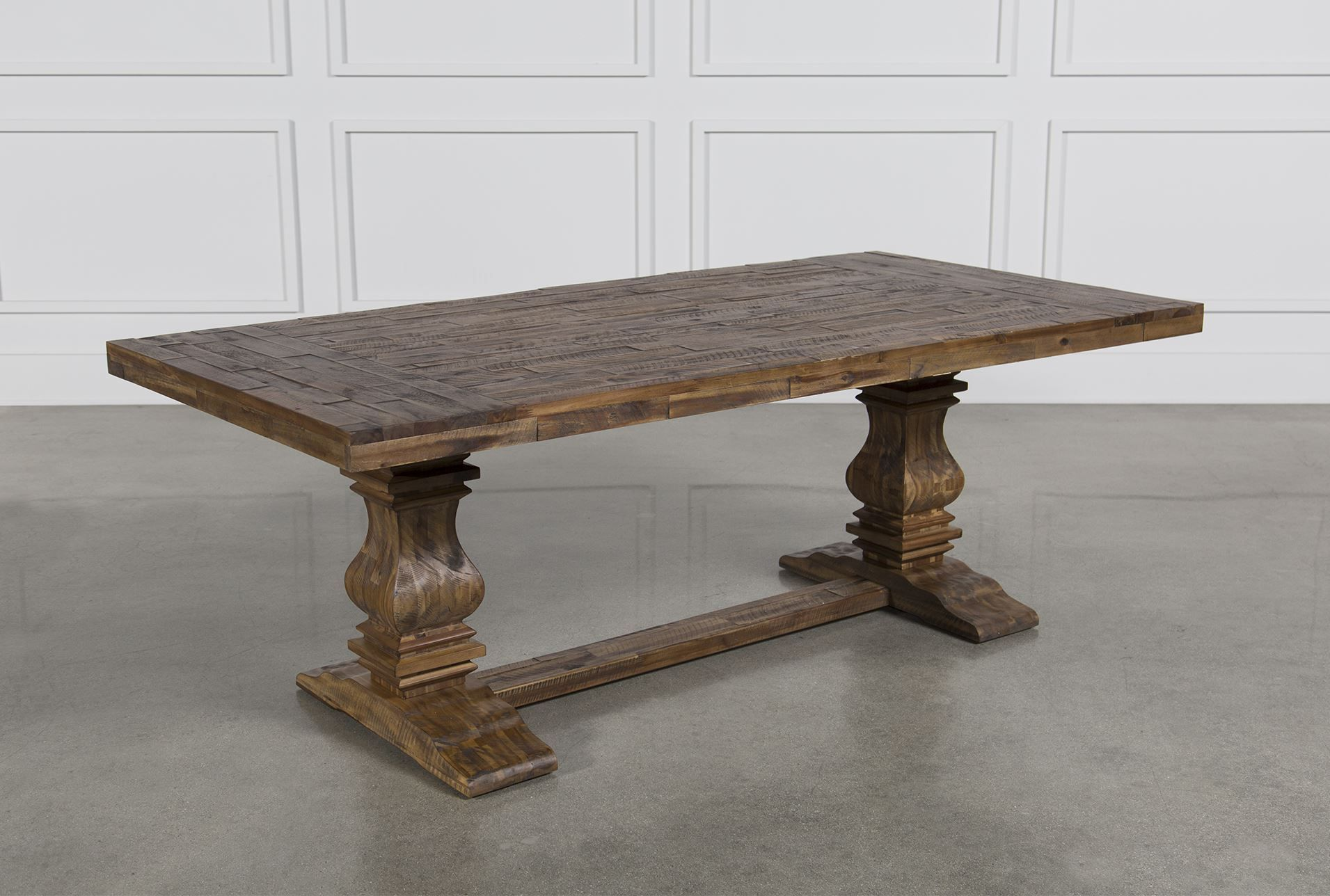 partridge dining table brown partridge living spaces and spaces