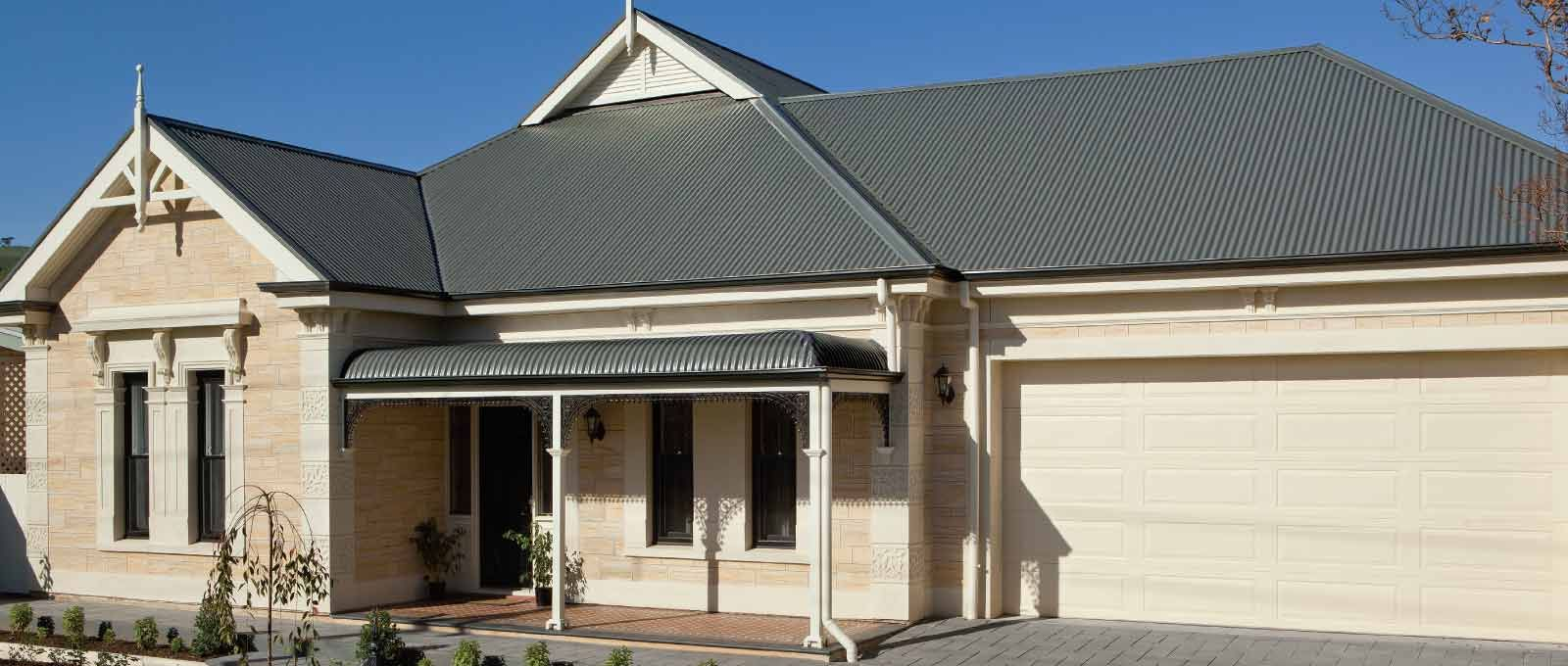 Colorbond roofing colours pictures to pin on pinterest - Image Result For Woodland Grey Roof Cream Coloured Bricks