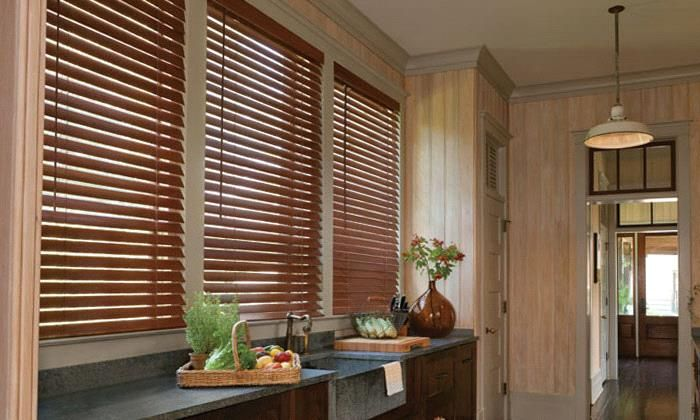 Steve's Exclusive Collection Faux Wood Blinds Steve's