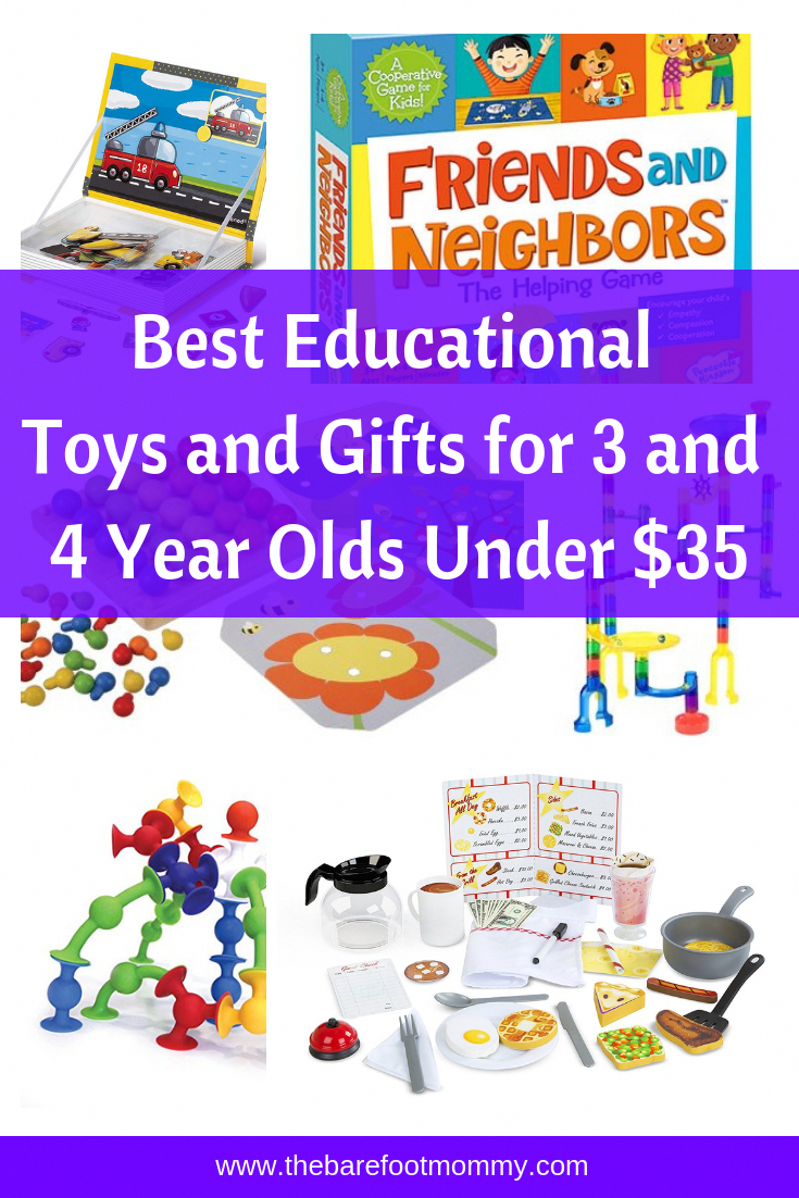 Best Educational Toys and Gifts for Three and Four Year ...
