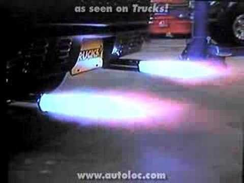 autoloc exhaust flame thrower kit