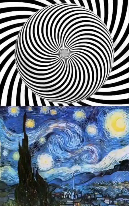 The best way to enjoy Van Gogh's painting