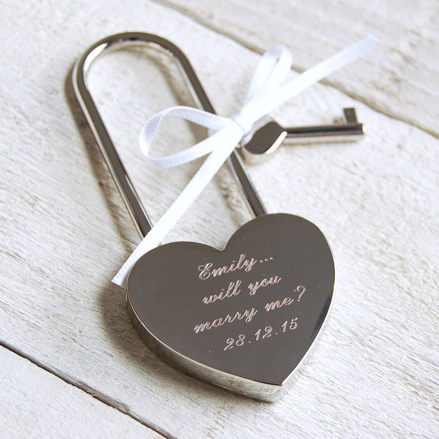 Love Lock, Wedding Favors