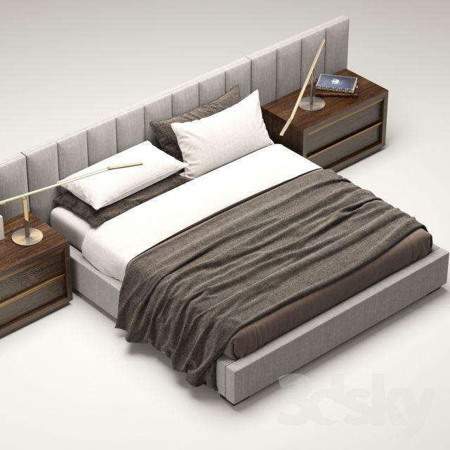 Best 3D Models Bed Rh Modern Custom Vertical Channel 400 x 300