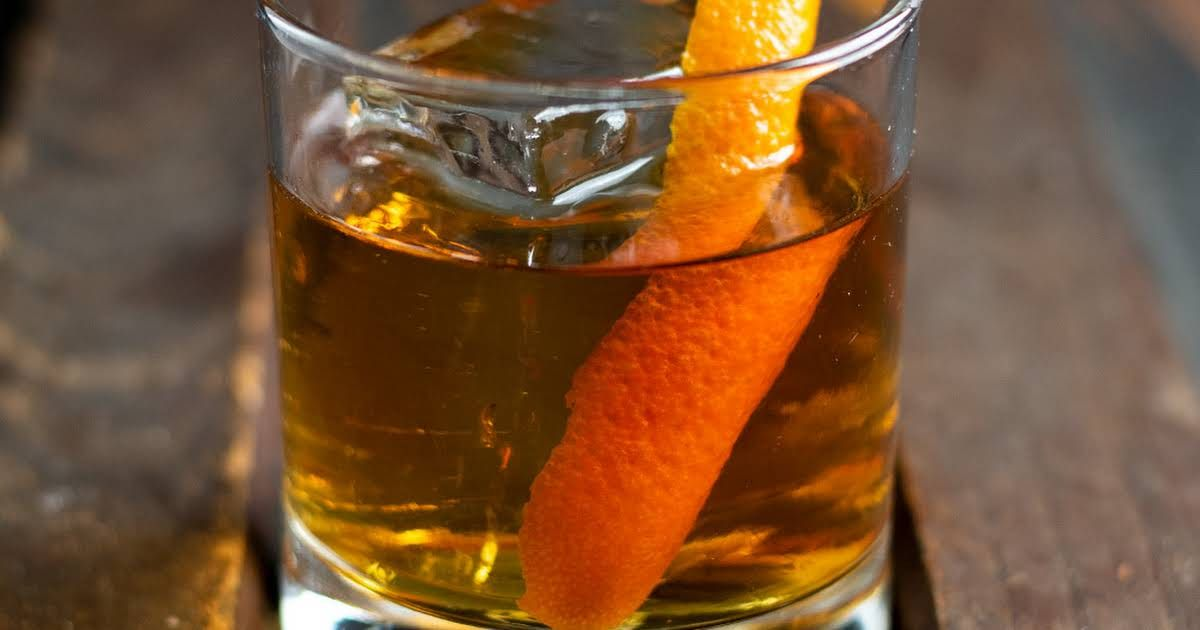 Old Fashioned Cocktail Recipe In 2020 Old Fashioned Cocktail