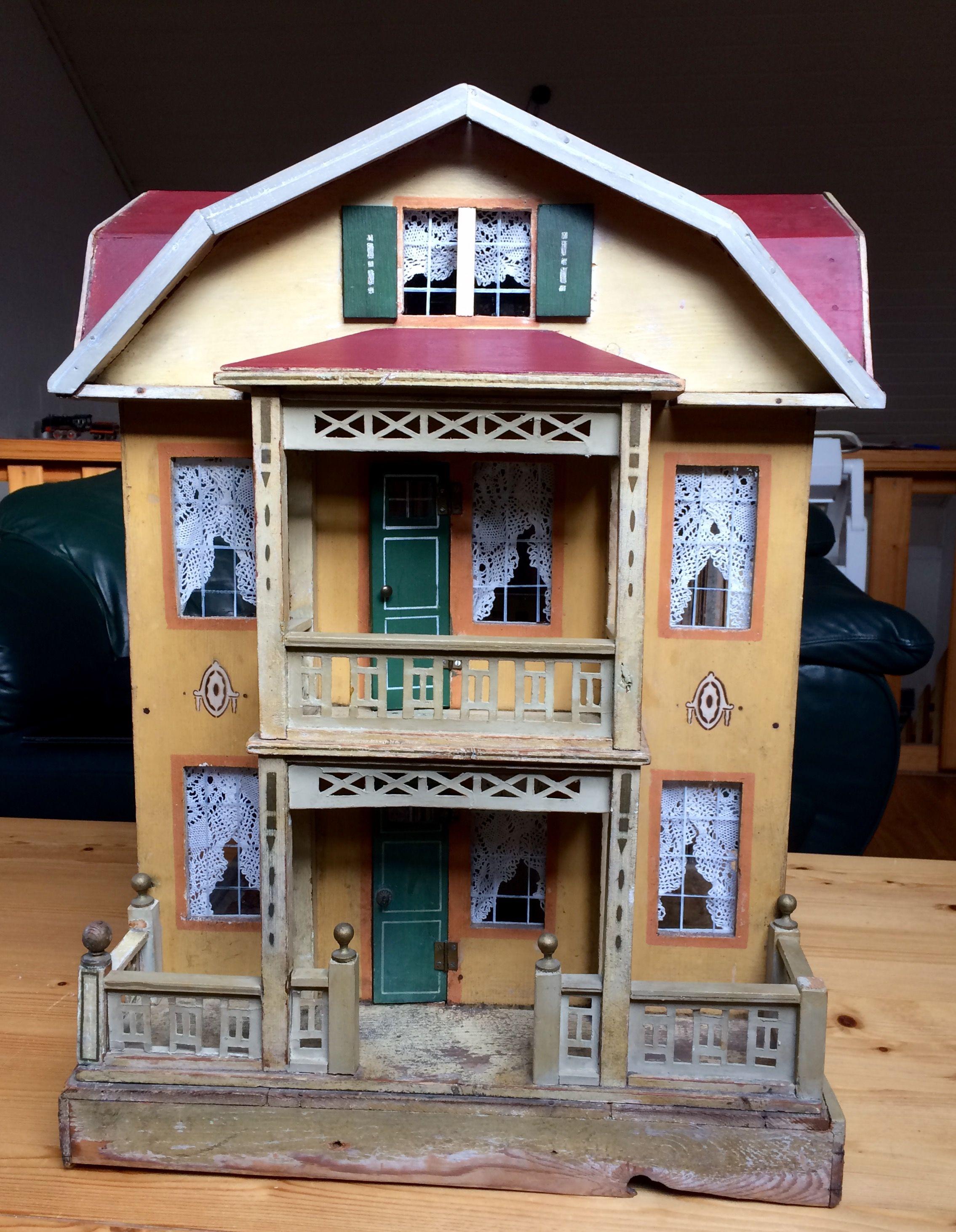 Moritz Gottschalk Villa von 1910 Miniature houses, Doll