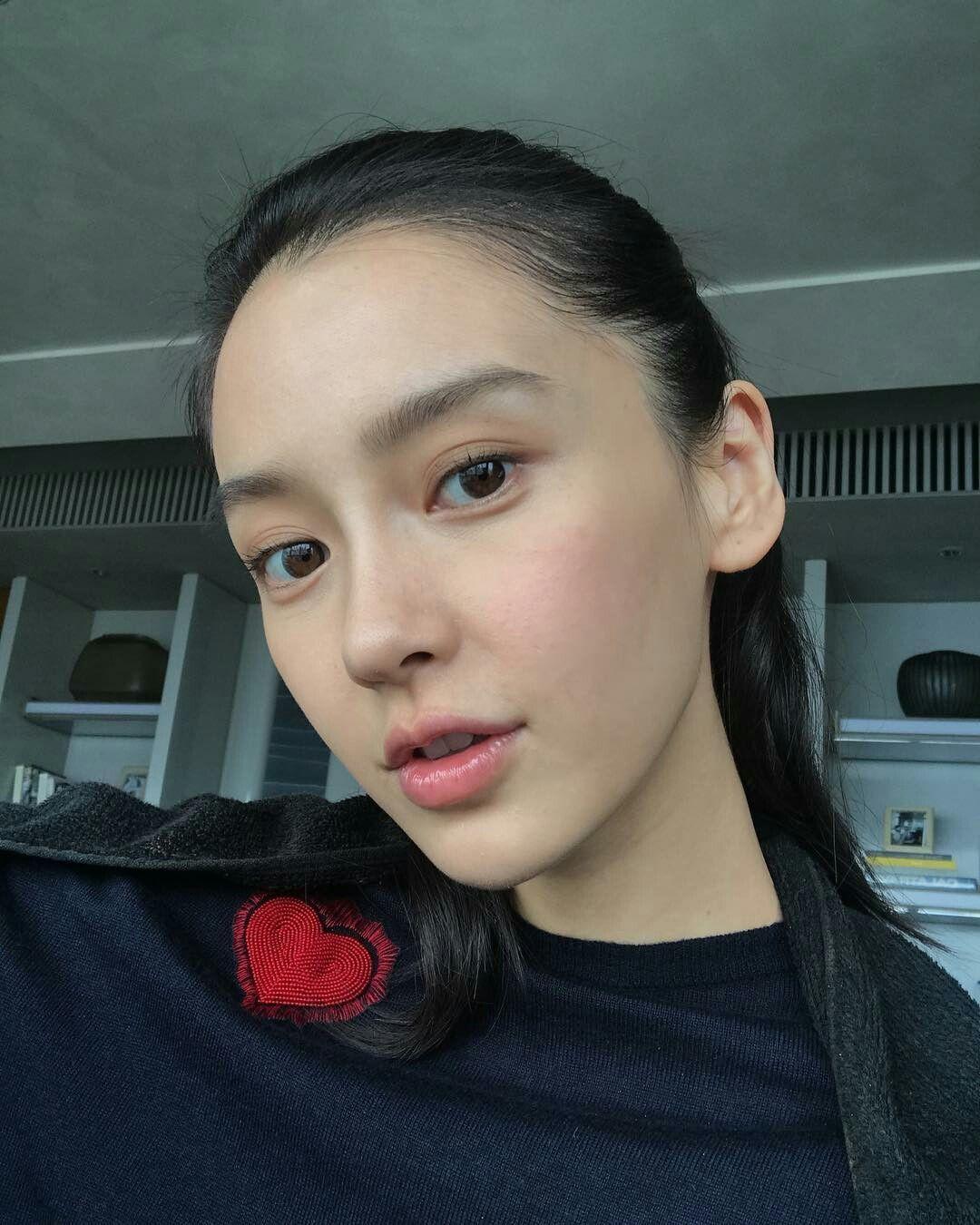 No Makeup Still Beautiful Angelababy Asian Beauty Girl Actress Without Makeup