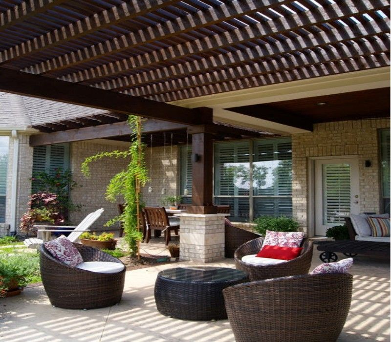Pergola Furniture Ideas