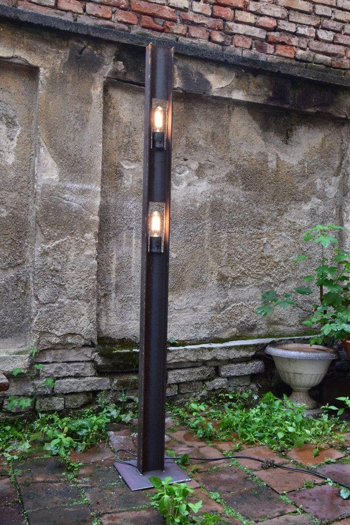 Floor lamp tienda 2 l mparas de pie l mpara vintage y - Iluminacion de pie ...