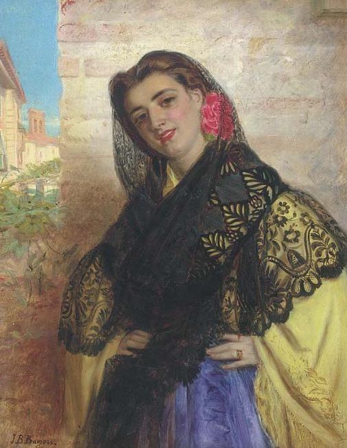 The Belle of the Village John Bagnold Burgess