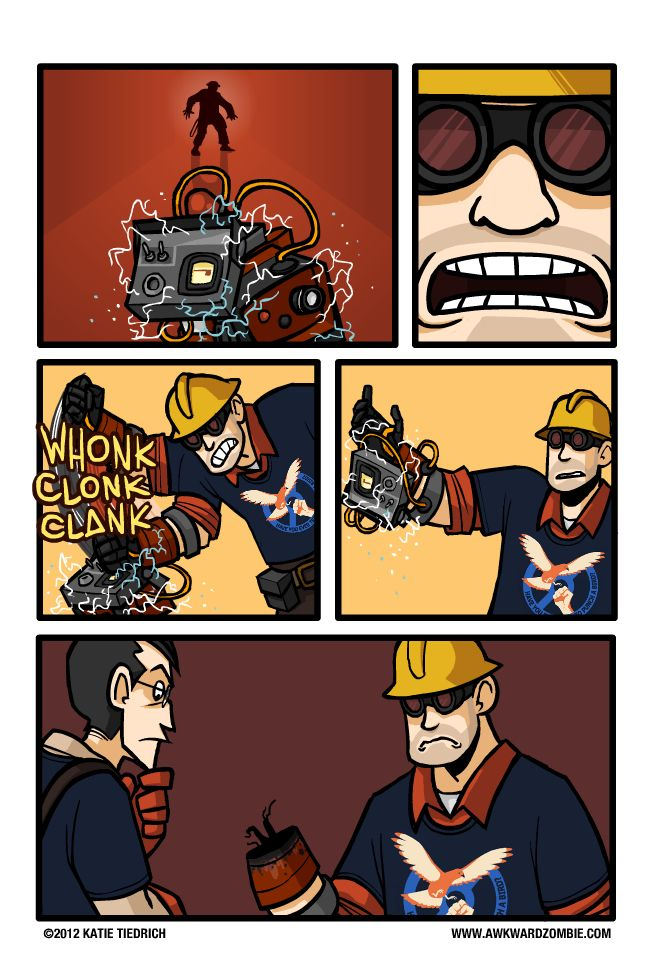 The Problem With The Gunslinger Team Fortress 2 Awkward Zombie