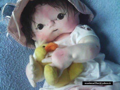 Bambole di stoffa - Foto 1