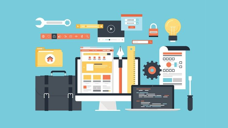Ultimate Web Designer Developer Course Build 23 Projects Course Info Learn Everything You N Web Development Course Web Development Design Online Business