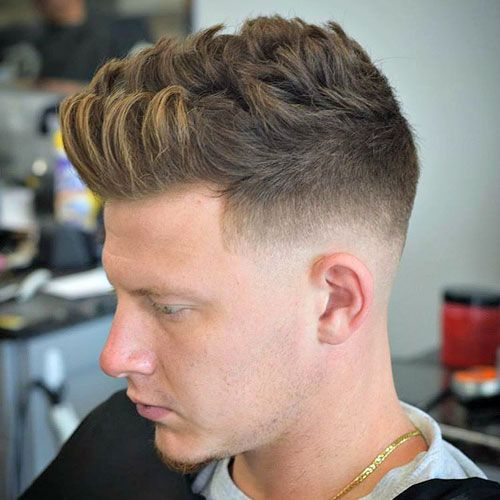 Brushed Up Hairstyle Men S Hairstyles Haircuts 2020 Mens Hairstyles Short Mens Haircuts Short Haircuts For Men