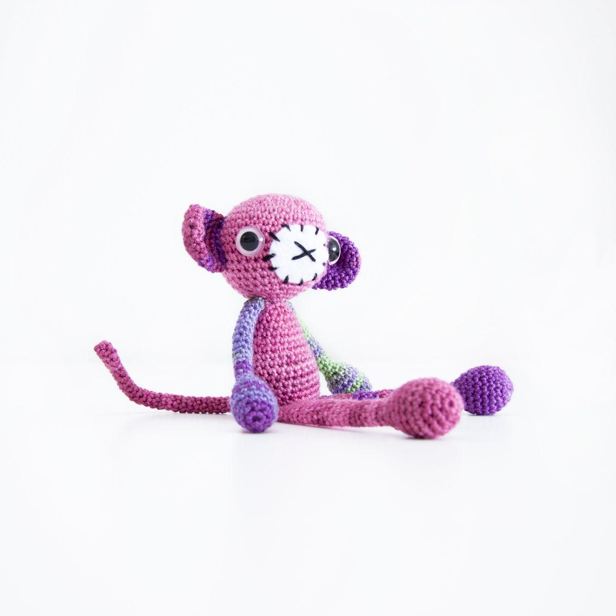 Geir the Crochet Monkey Free Amiguurmi English Pattern | Amigurumi ...