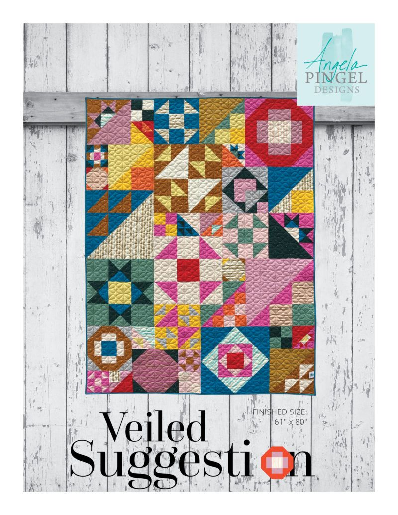 Veiled Suggestion Digital Pdf Pattern In 2020 Quilt Patterns Quilting Projects Quilts