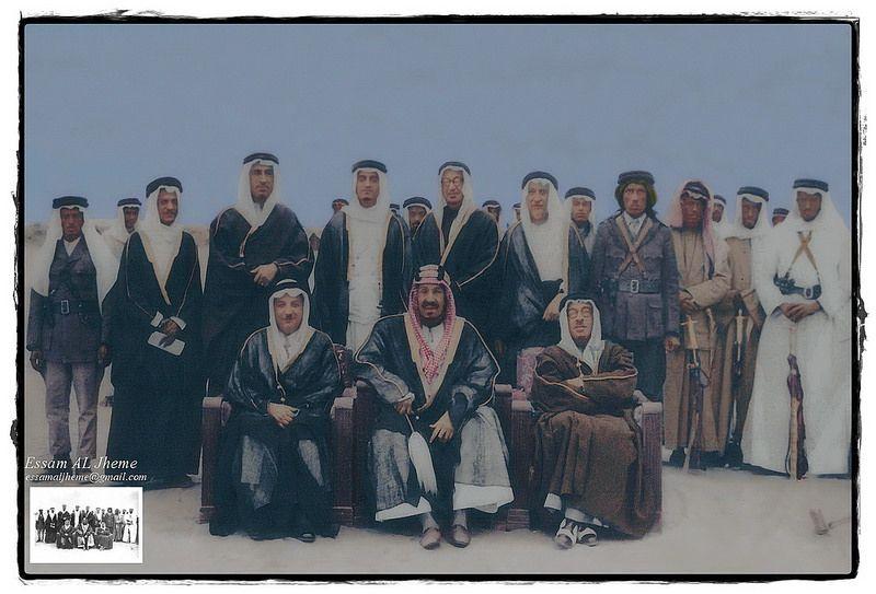 الملك عبدالعزيز آل سعود و الملك فهد بن عبدالعزيز Arabian Beauty