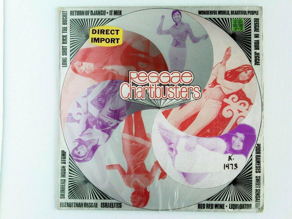 Various Reggae Chartbusters Uk Vinyl Lp Trojan Records Tbls 105 Reggae Vinyl Vinyl Records