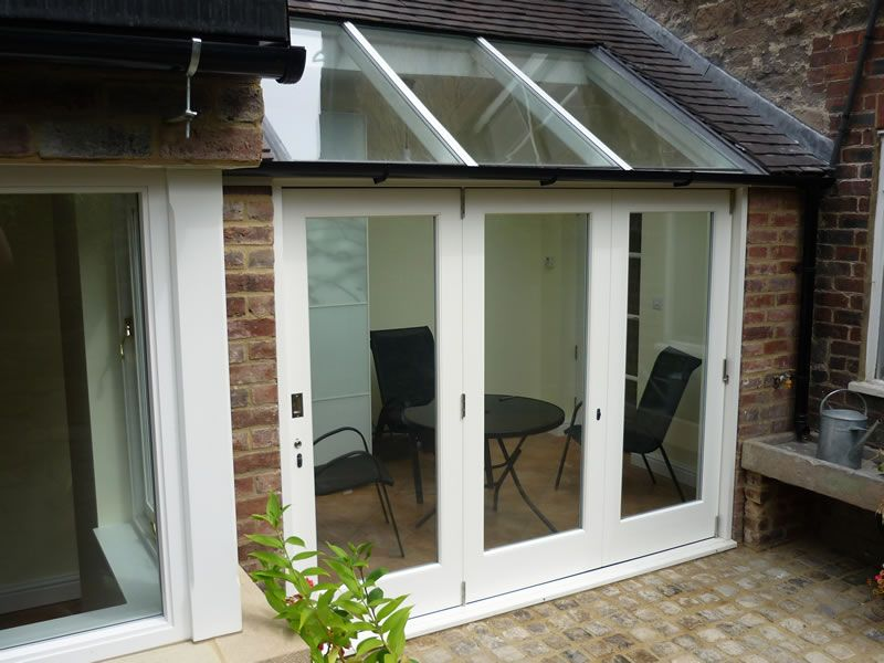 Hafele E3 Bifold Door Planetherm Bioclean Self Cleaning Glass