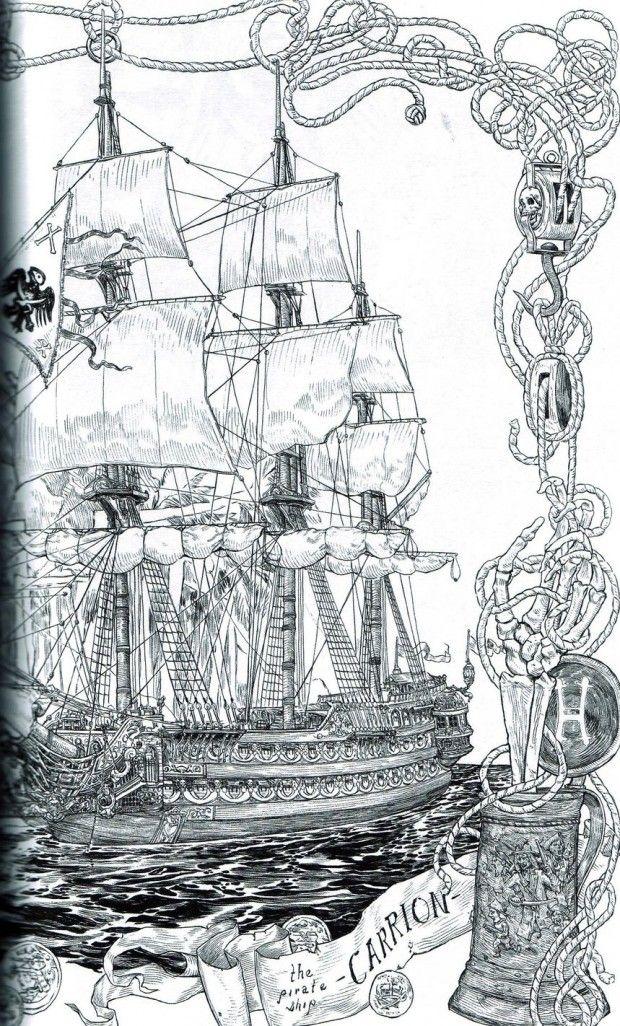 Pirate Art Fantasy Inspiration Pinterest Pirate Art Ship Art