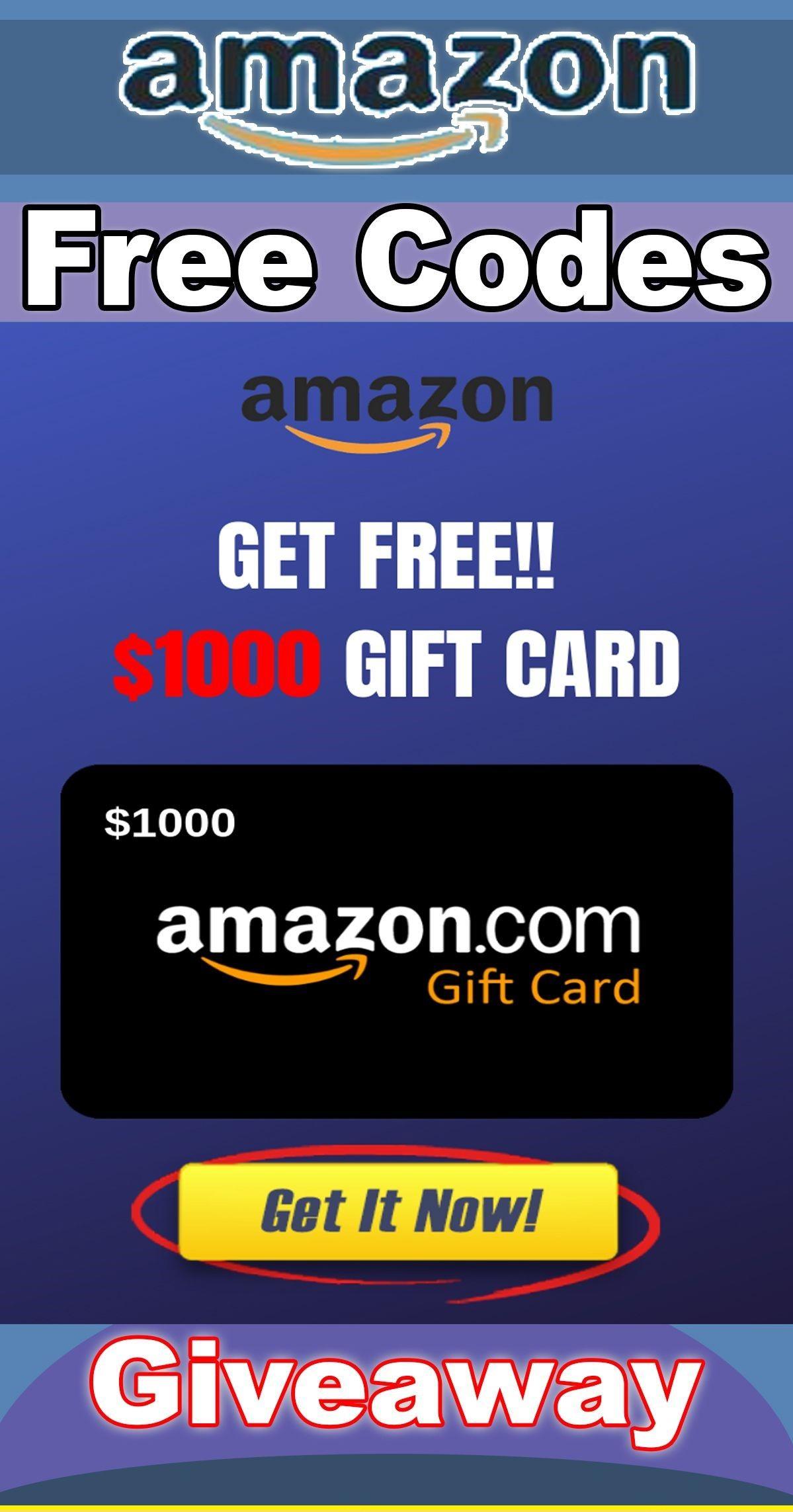 Free Amazon Gift Card Code Generator No Human Verification
