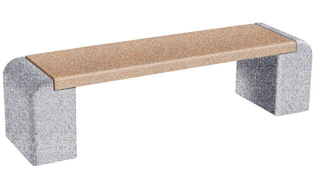 Commercial Concrete Backless Benches In 2020 Concrete Precast Concrete Bench