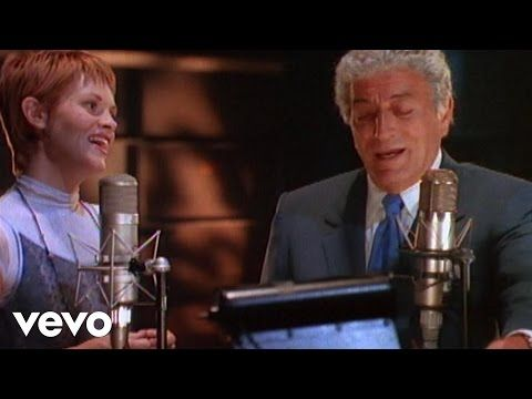 2) Tony Bennett, Shawn Colvin - Young At Heart (Video