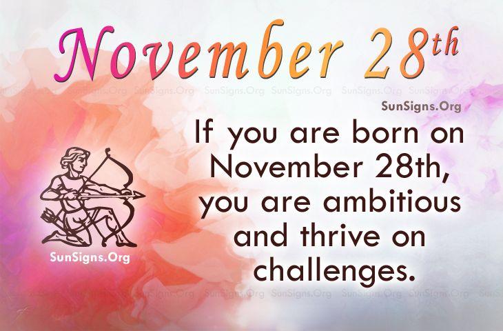 born on november 28 horoscope