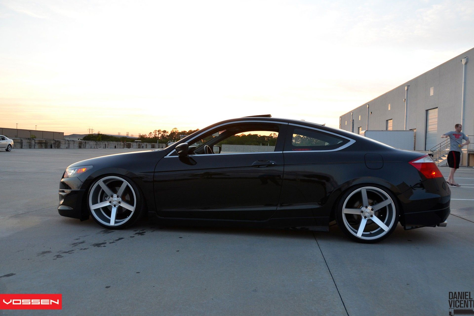 Honda Accord Coupe By Vossen Honda Accord Coupe Accord Coupe Honda Coupe