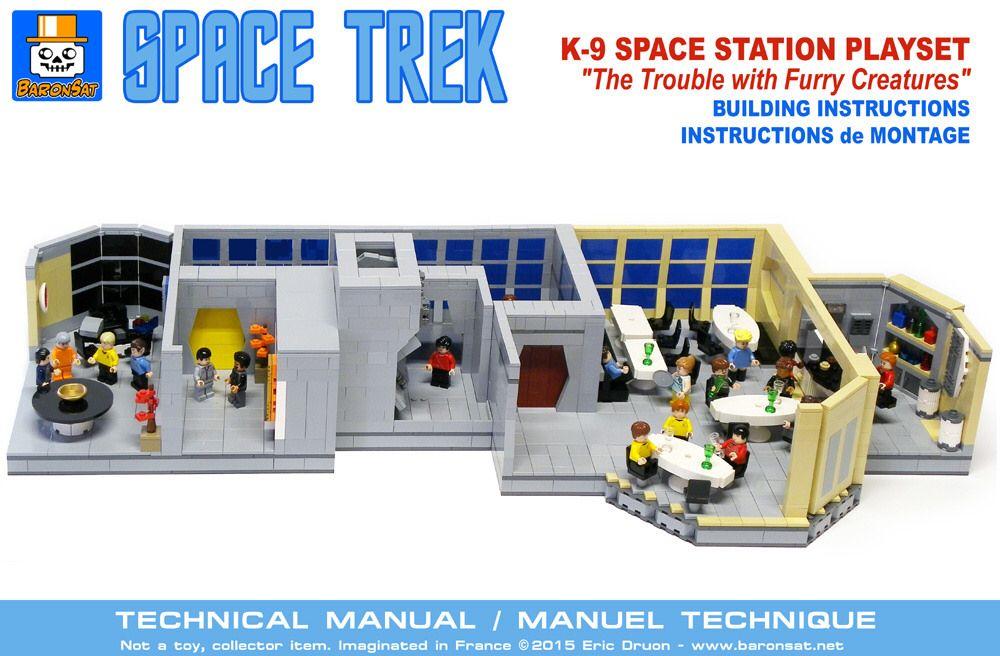 Star Trek K 7 Space Station Instructions Lego St Pinterest