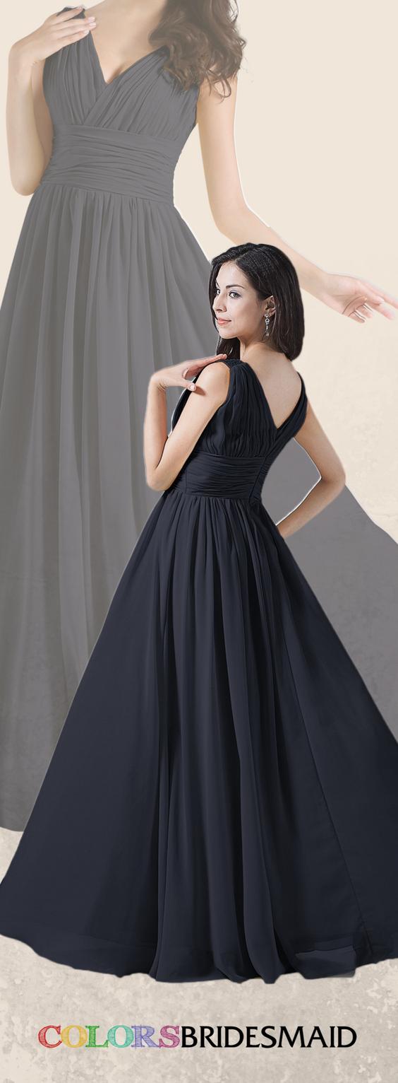 Colsbm alana navy blue bridesmaid dresses wedding crafts