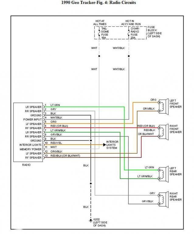 2002 dodge dakota radio wiring diagram colors free picture