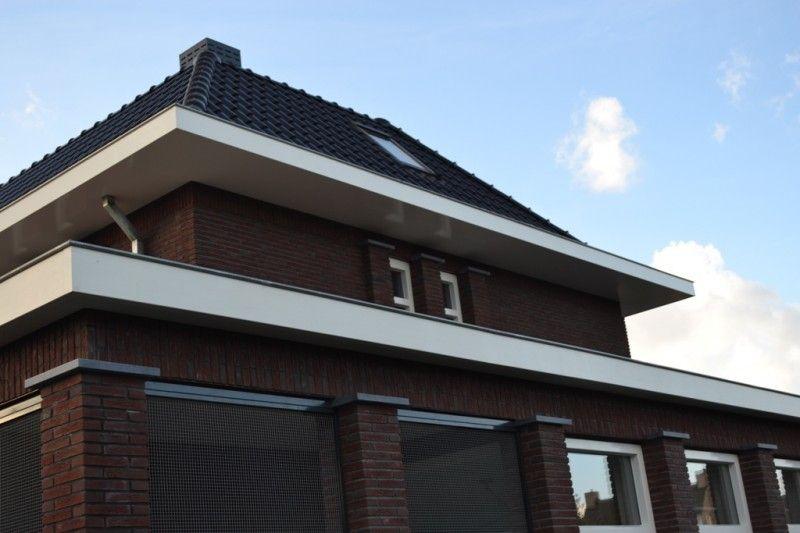 Gaas Het Interieur : Gaas als terrasafscheiding villa in jaren 30 stijl mattone