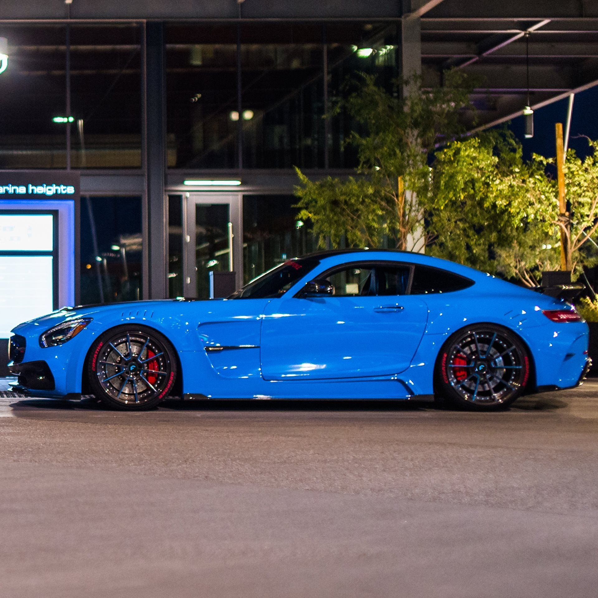 Mansory Does Its Magic For Electric Blue Mercedes Amg Gt