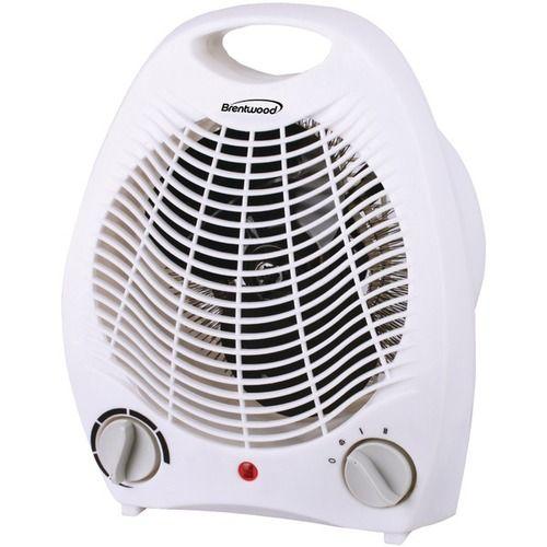 Brentwood Appliances H F302w Fan Heater White Portable