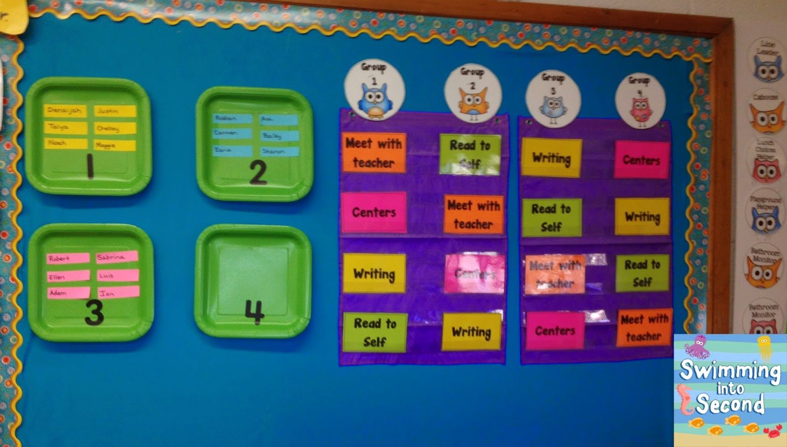 C Is For Centers Abcs Of 2nd Grade