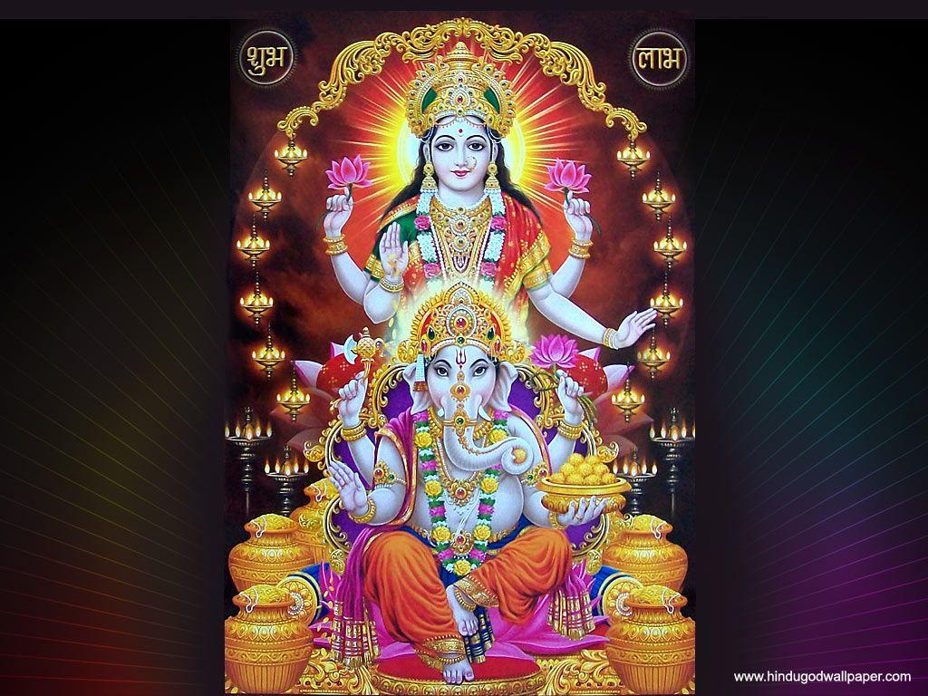 FREE Download Goddess Laxmi Ganesh Wallpapers Laxmi