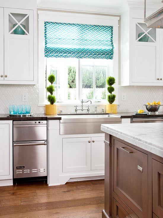 White Kitchens We Love  Neutral Kitchen Neutral And Kitchens Custom Blue Kitchen Design Decorating Design