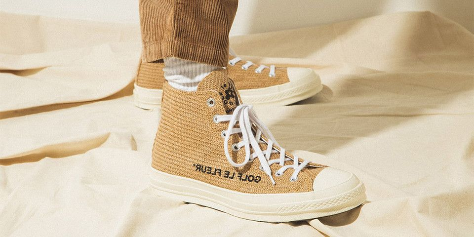 b5a458443d4f An On-Foot Look at GOLF le FLEUR  x Converse